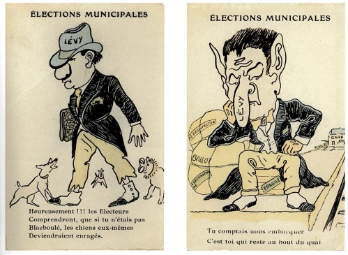 Minicipal Election Caricatures