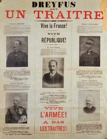 a history of the mystery of the dreyfus affair Dreyfus affair, francis & katy perry  dear tia, regarding the book review of anti-semitism, its history and causes by bernard lazare  entitled the mystery of .