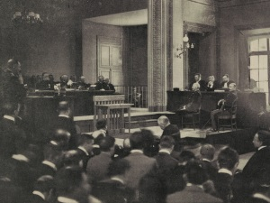 Dreyfus replies to the Judges at the Rennes trial