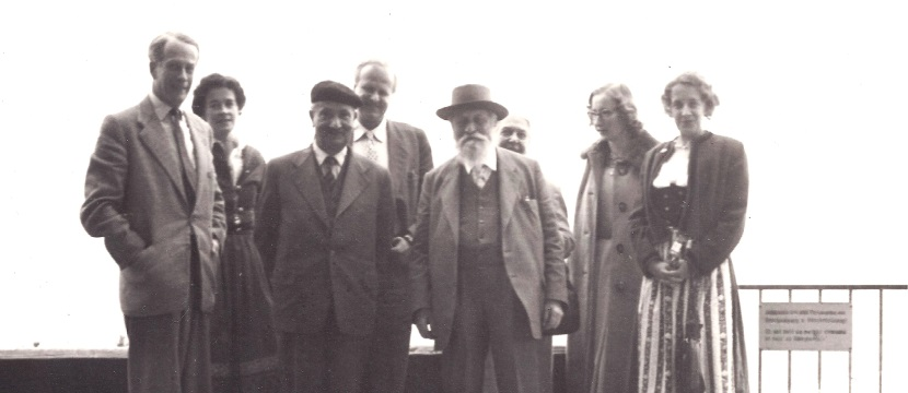 1/7-8/7/15: The German Martin and the Jewish Mordechai: A Meeting between Buber and Heidegger, 1957