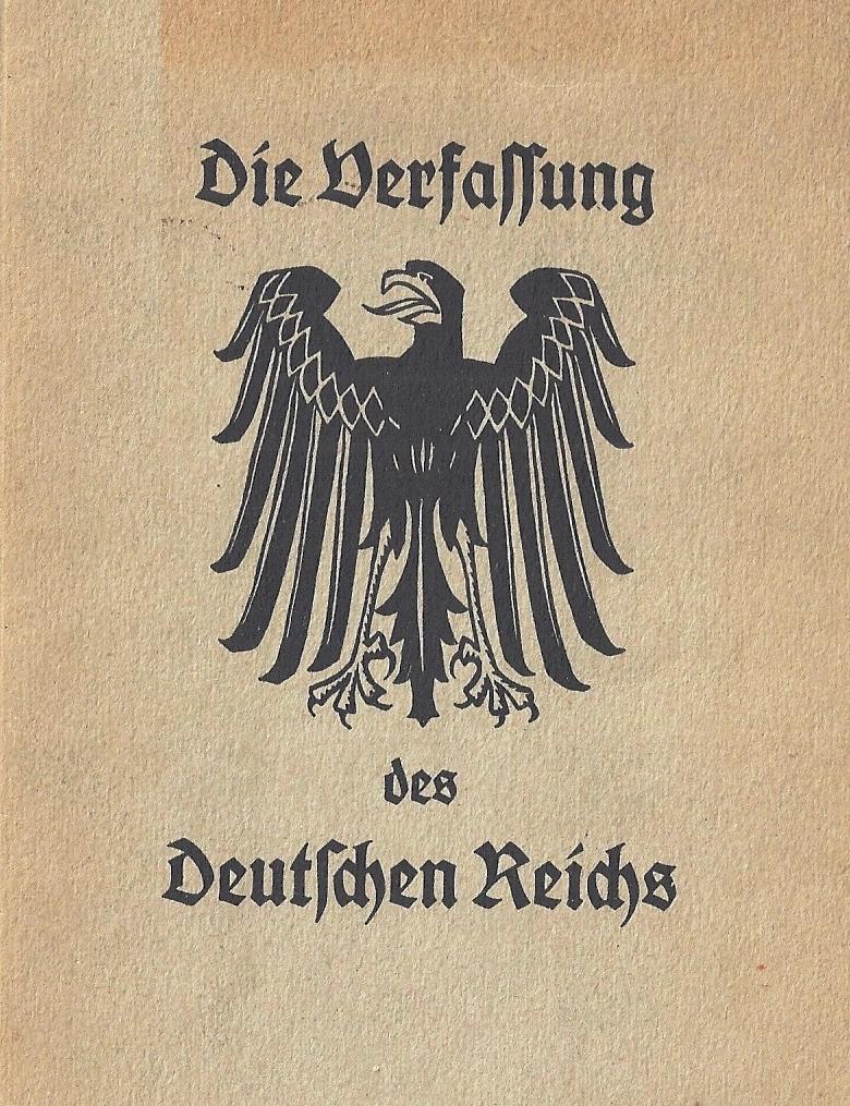 Die Weimarer Verfassung Und Ihr Quot Vater Quot Hugo Preu 223
