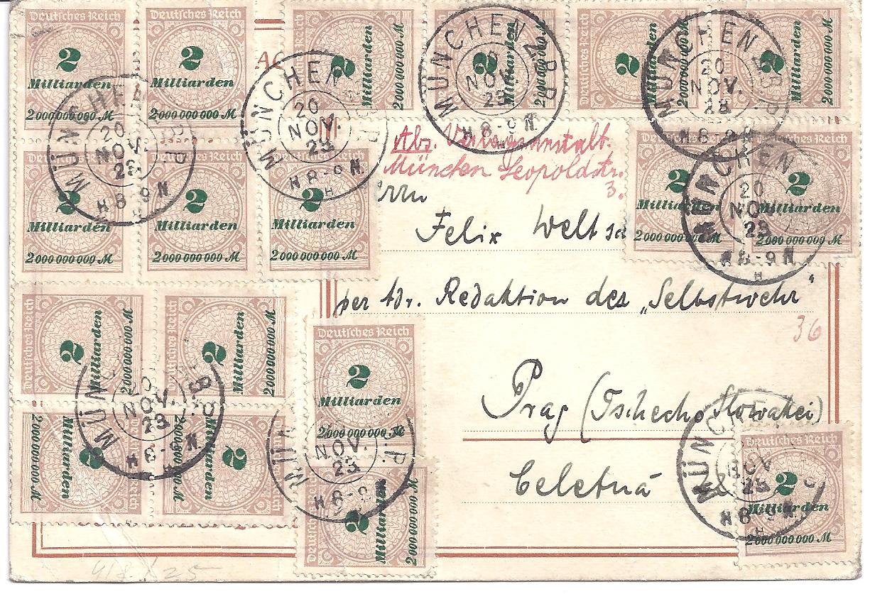 WW2 German Reichsmark Anti Semitic Judaica Judaika RRS Propaganda banknote,