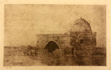 Etching of Rachel's tomb