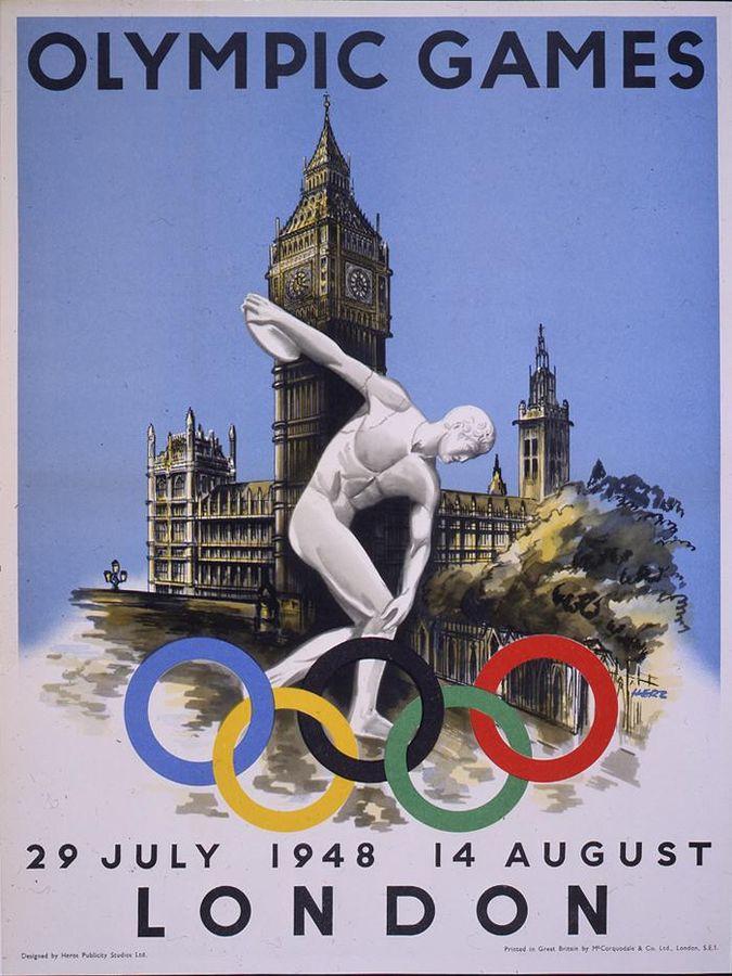 האולימפיאדה אחרי מלחמת העולם השנייה: לונדון 1948