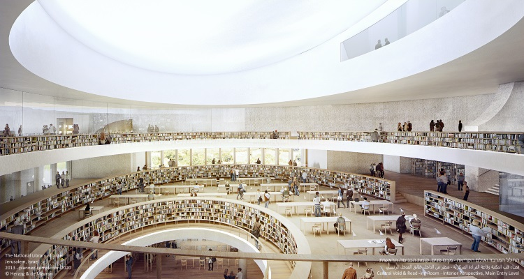 Simulation of New National Library Complex